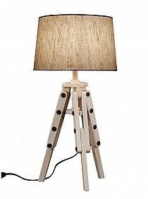 tripod table lamp gold