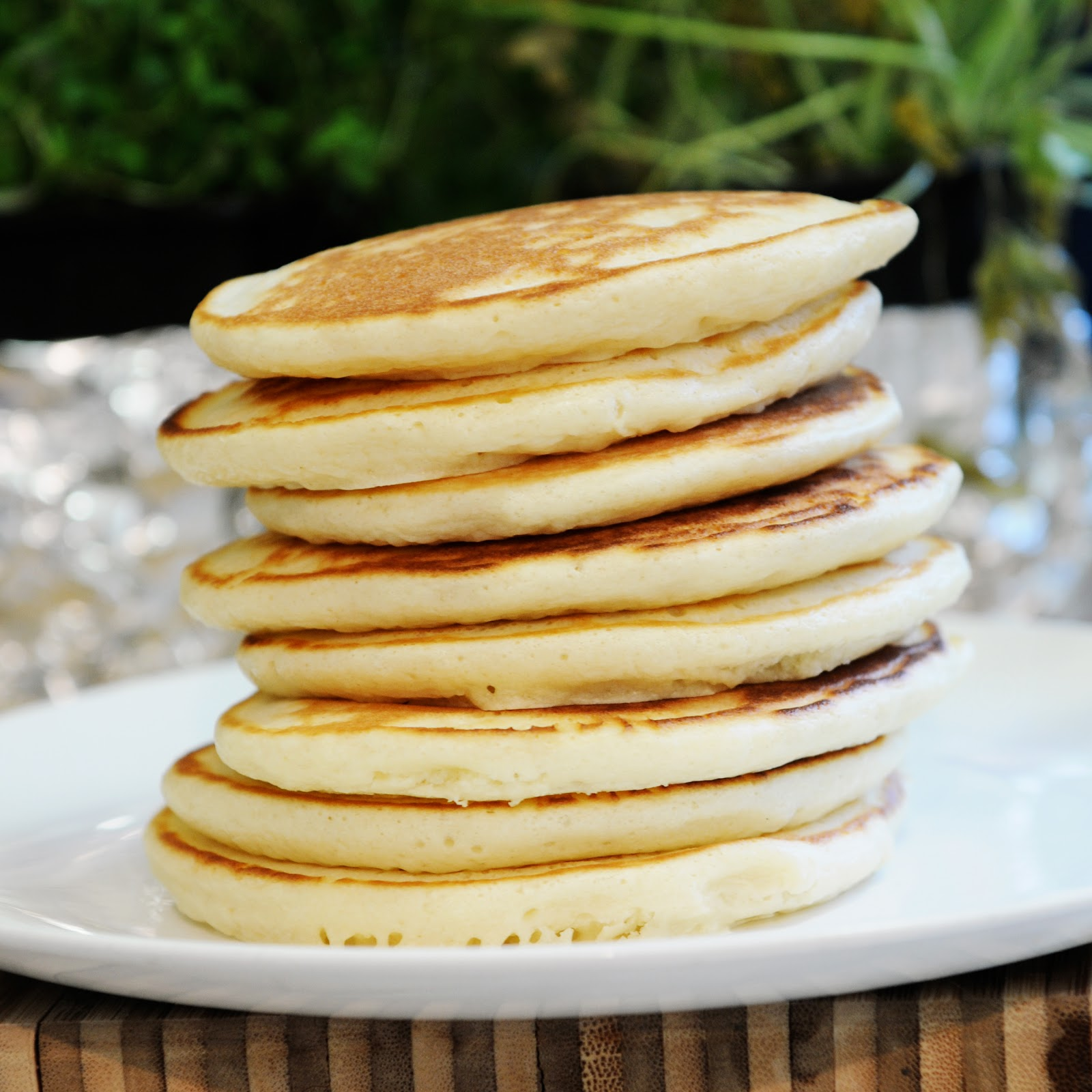 simply gourmet pancakes from scratch. Black Bedroom Furniture Sets. Home Design Ideas