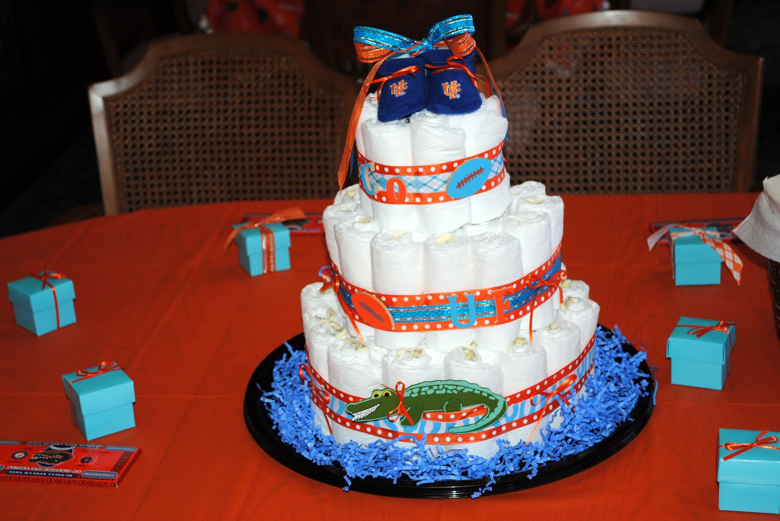 Baby Shower Cakes Crazy ~ Dixie Gator Gal Baby Shower