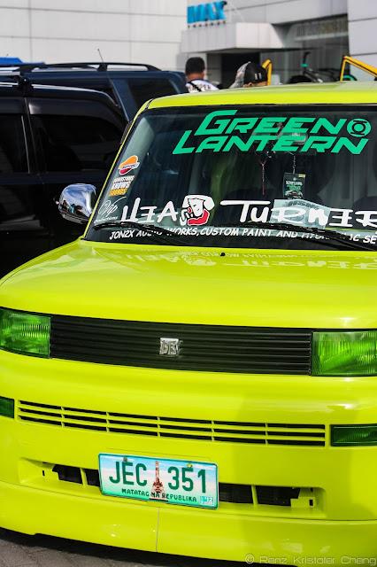 Green Lantern: Toyota BB