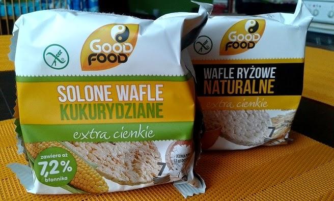 Nowość Good Food - wafelki ryżowe i kukurydziane