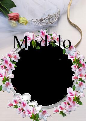 Molduras Rom  Nticas Para Noivado E Casamento Em PNG