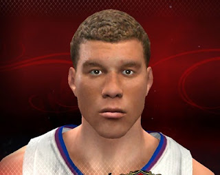 NBA 2K13 Blake Griffin Cyber Face Mod