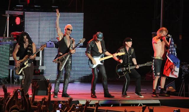 Scorpions anuncian nueva fecha en España para 2014