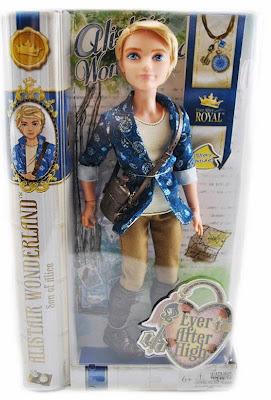 JUGUETES - Ever After High  Alistair Wonderland | Muñeco  Toys | Producto Oficial 2015 | Mattel | A partir de 6 años