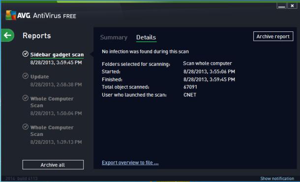 AVG antivirus pro 2014
