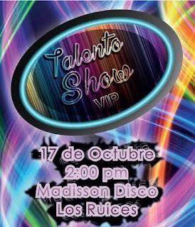inscripciones talento show vip concurso talentos caracas venezuela