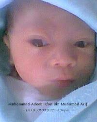 Muhammad Adeeb Irfan ~ 1st day