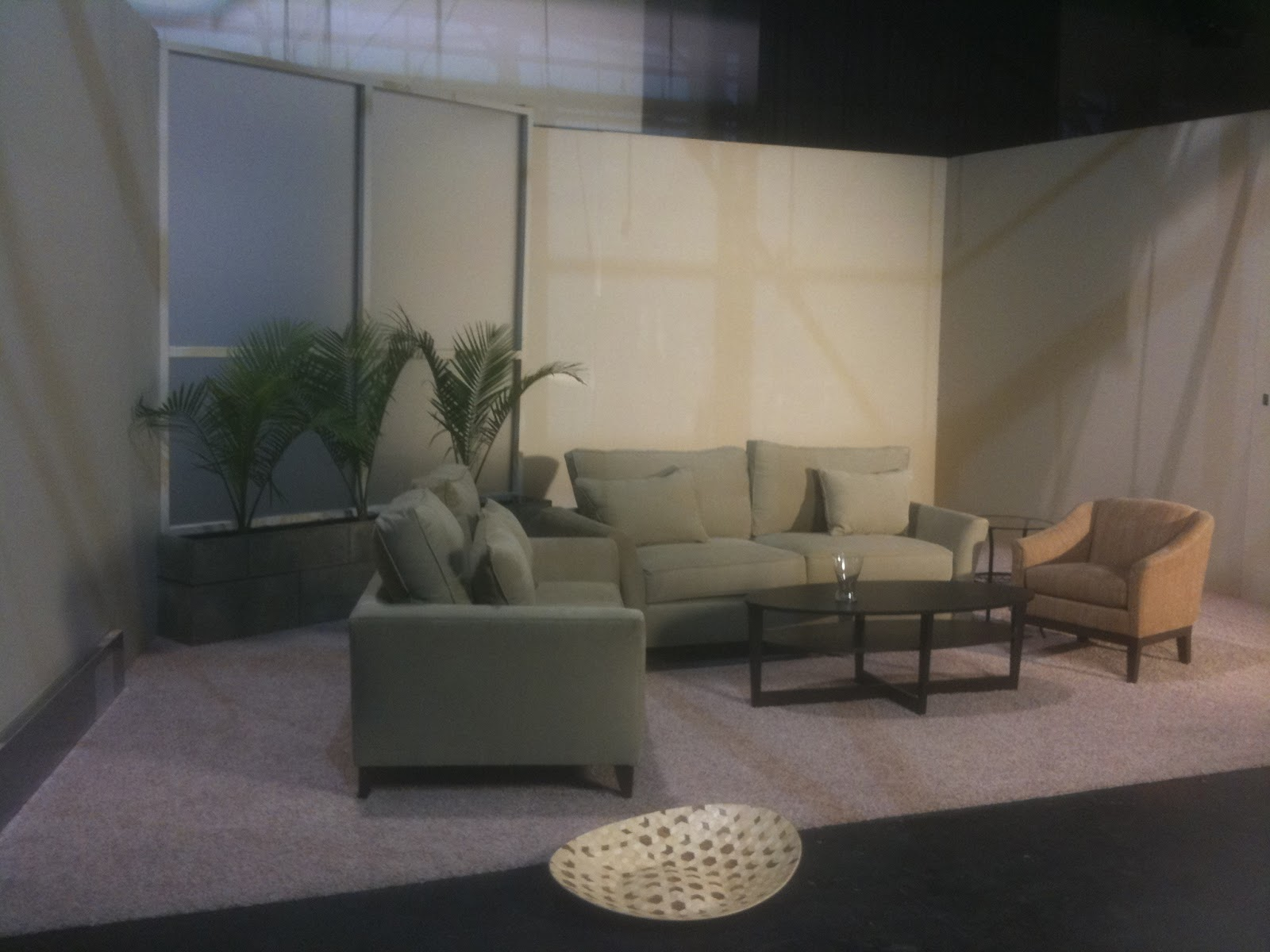 thb construction tv studio set living room fabricated