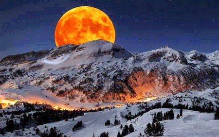 Super Moon 2014 wallpapers HD