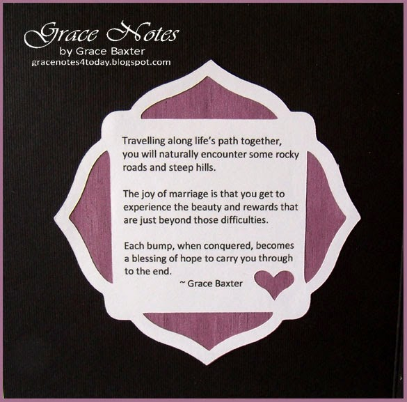 Anniversary Quote by Grace Baxter