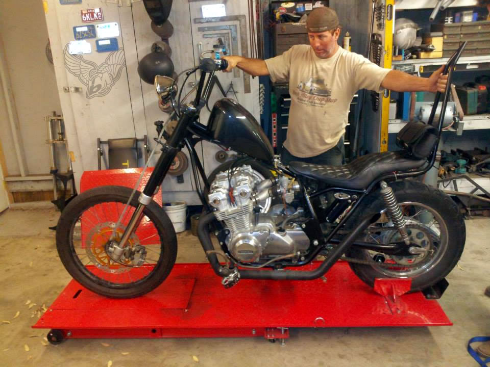 honda cb bobber car interior design Honda CB750 Bobber Build Honda CB750 Bobber Build