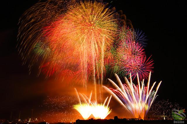 神奈川新聞花火大会2015