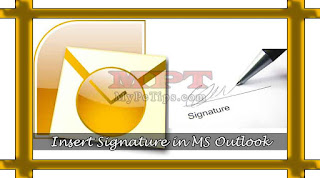 Add your Signature to Emails with MS Outlook