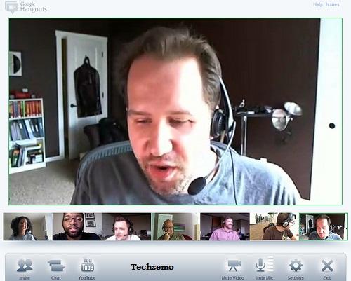 Screenshot Google Hangouts