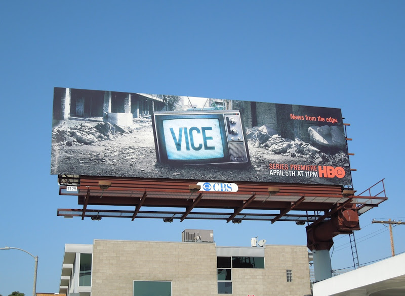 Vice HBO season 1 billboard