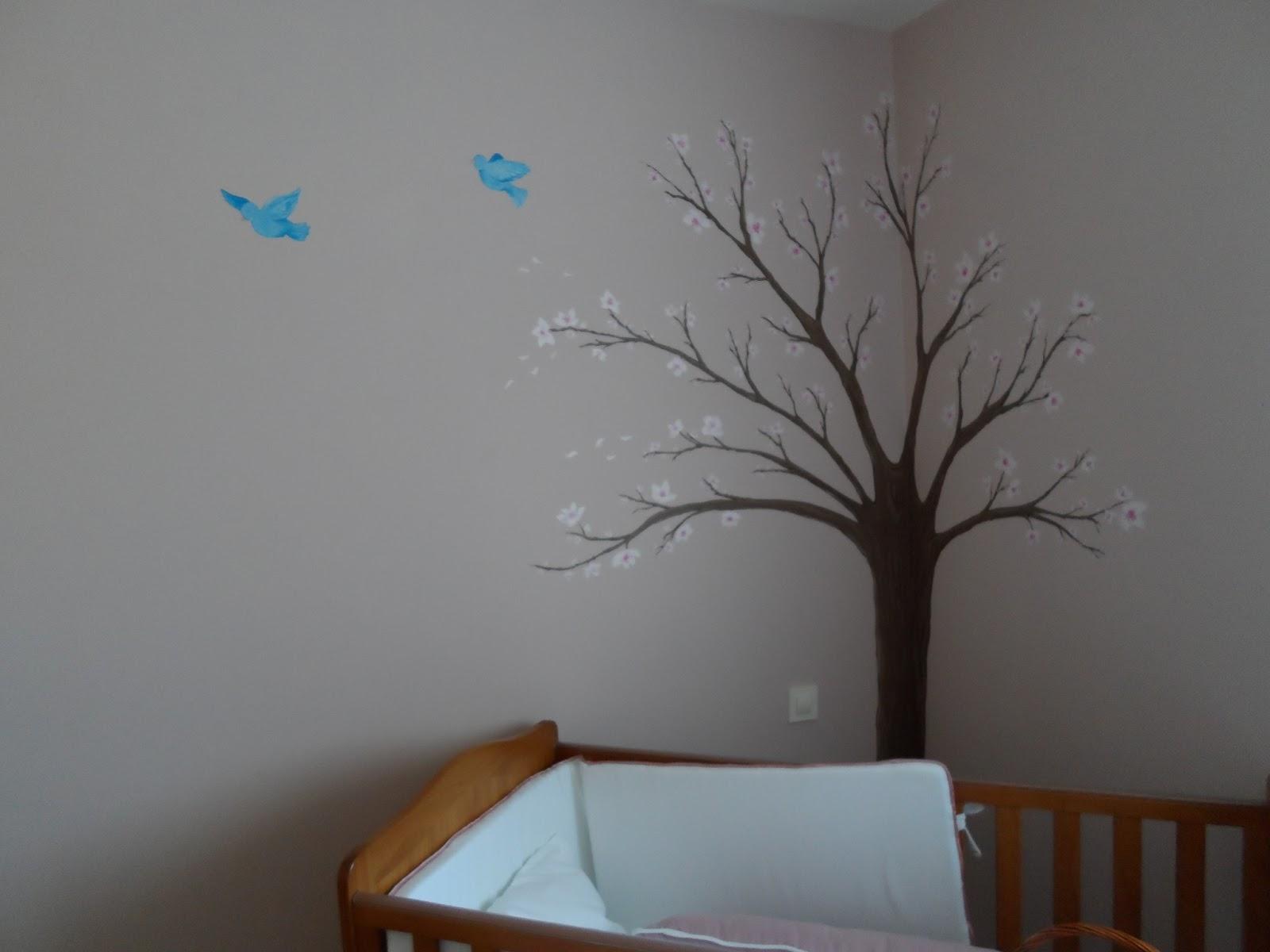 Ana llanos de sande mural almendro - Mural para habitacion ...