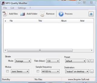 Cara memperkecil ukuran file MP3 1