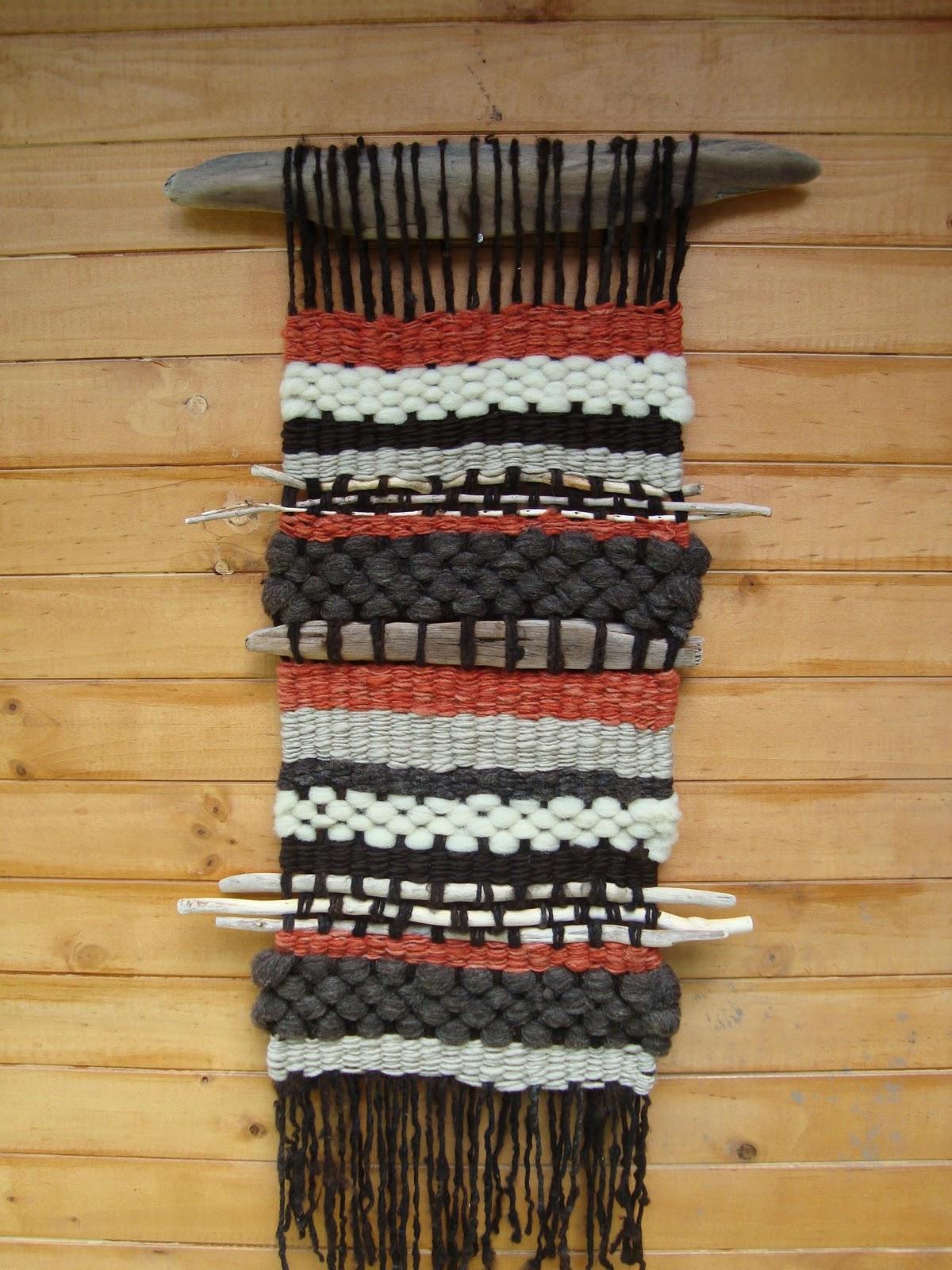 SORBO DE COLOR: Telar Mapuche