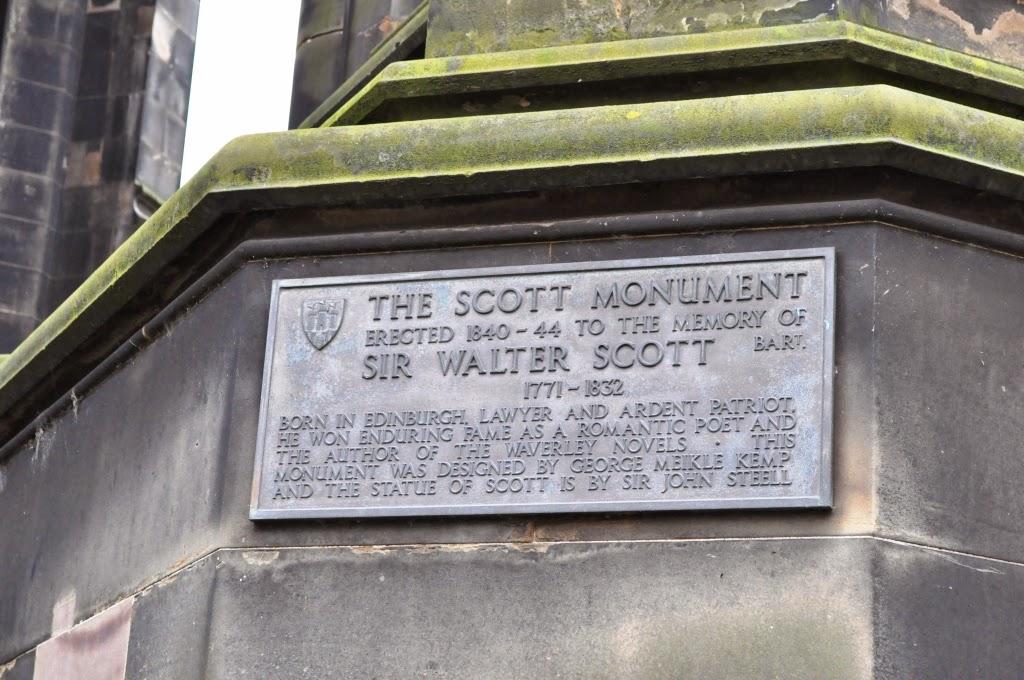 монумент Вальтера Скотта