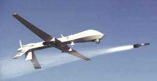 predator firing hellfire A Predator Drone Could be Spying On You in Obama's America