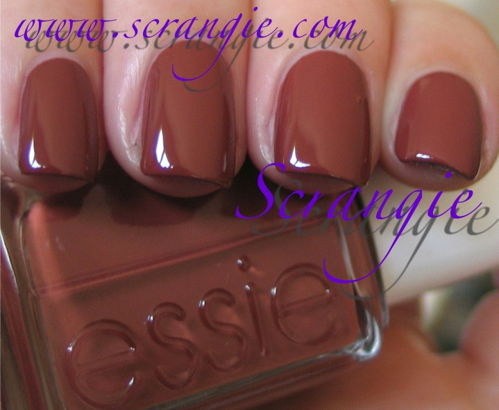 Scrangie: Essie Fall 2011 Nail Polish Collection Swatches and Review