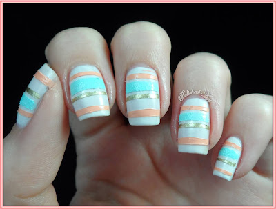 Textured-stripes-nail-art-Barry-M-Ridley-Road