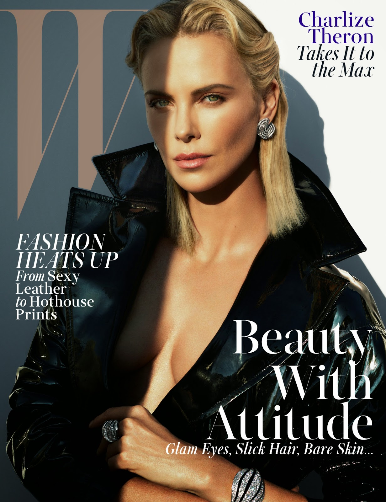 Actress @ Charlize Theron - W Magazine May 2015