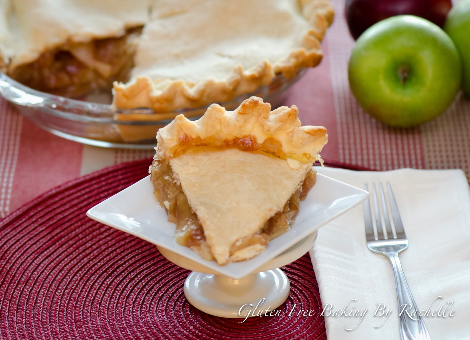 how to make gluten free apple pie