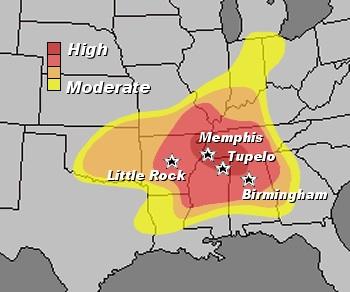 Arkansas Weather Blog New Tornado Statistics Arkansas Is In