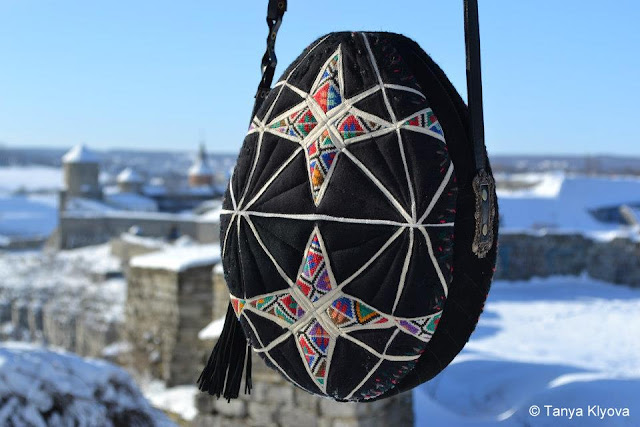 Easter Egg Shaped Handbag, Made by Tanya Klyova, Ukraine