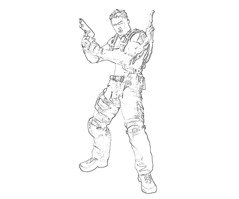 printable-resident-evil-chris-redfield-profil-coloring-pages