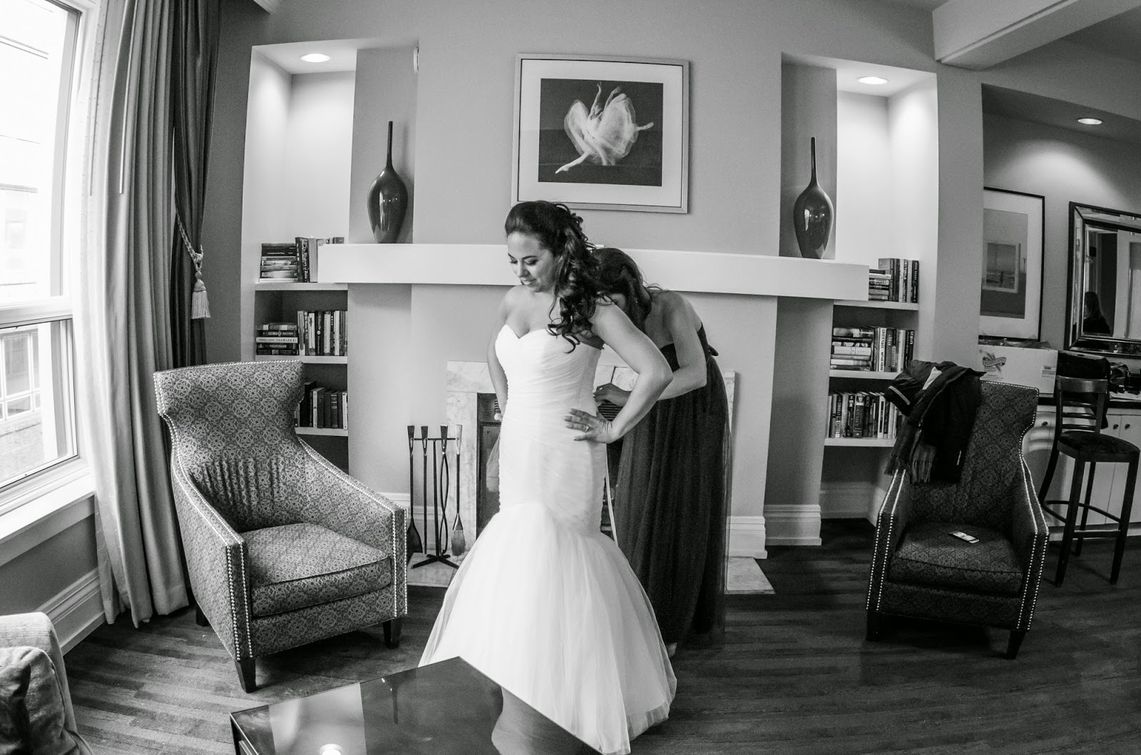 Seattle wedding photography - getting ready
