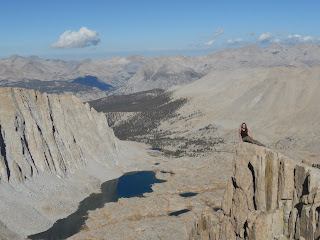 Mt Whitney Trail Crest Sequoia National Park Inyo National Forest Hitchcock Lakes Mt Hitchcock Guitar Lake High Sierra