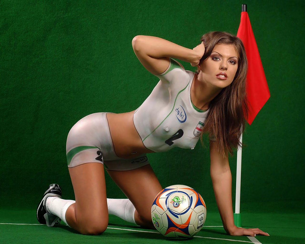 Sexy World Cup Soccer Body Painting - Sex Porn Images