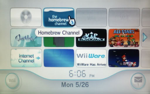 how to use homebrew channel wii