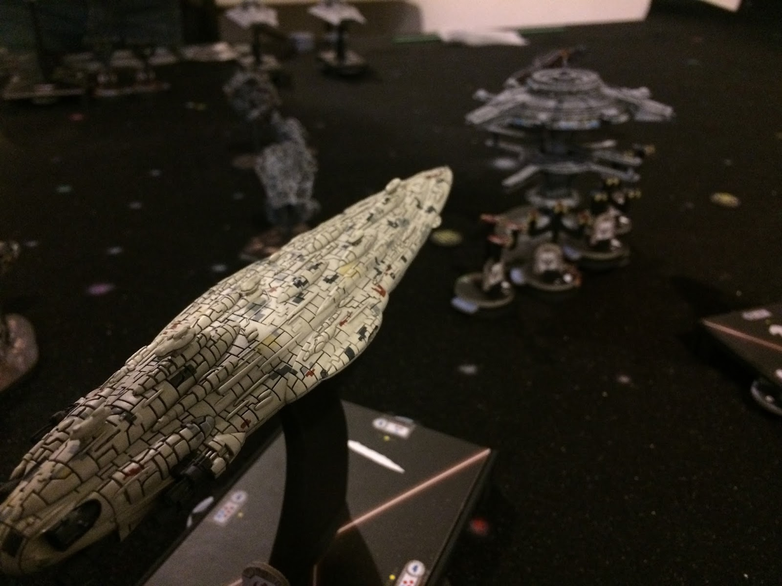 Star Wars Armada Battle Report First Wave 2 Game Mc80