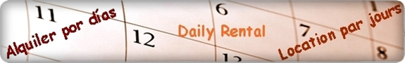 Alquileres de villas y apartamentos, por días en El Capistrano, Nerja, Costa del Sol
