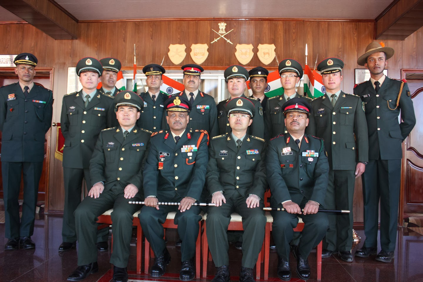 Sikkim Now Indo China Border Personnel Meet At Nathula On R Day