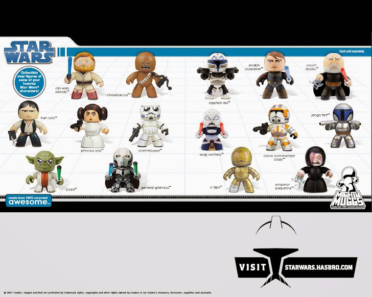 Star Wars Mighty Muggs Desktop Wallpaper 1