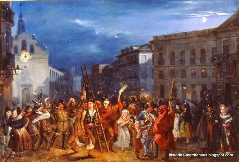Historias matritenses las uvas las campanadas y la for Puerta del sol en nochevieja