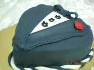 Fondant Tuxedo Cake