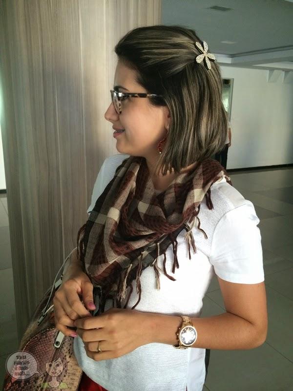 Formas de usar lenço ou echarpe