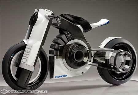 motor honda futuristik