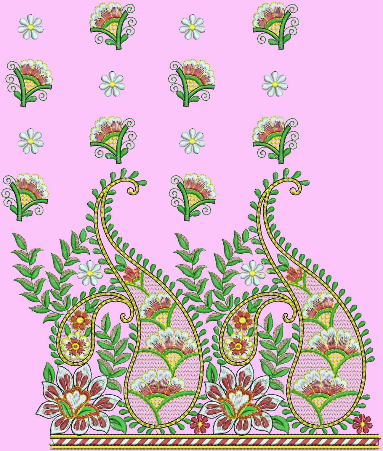 Fashion saree with embroidery saree designs makaroka embroidery saree design bankloansurffo Gallery