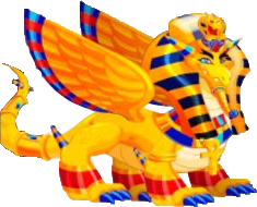 dragon faraon adulto