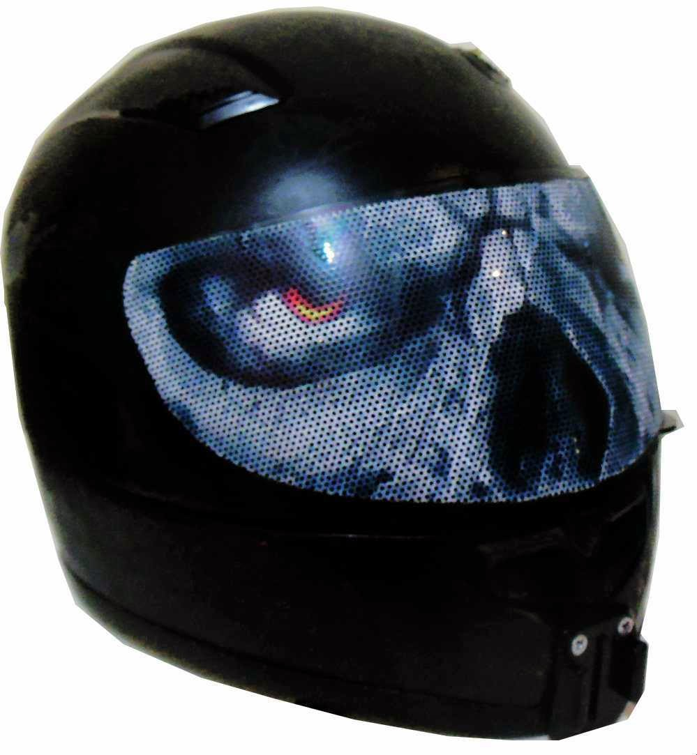 Motorcycle Helmets Helmet Visor Sticker - Motorcycle helmet decals and stickers