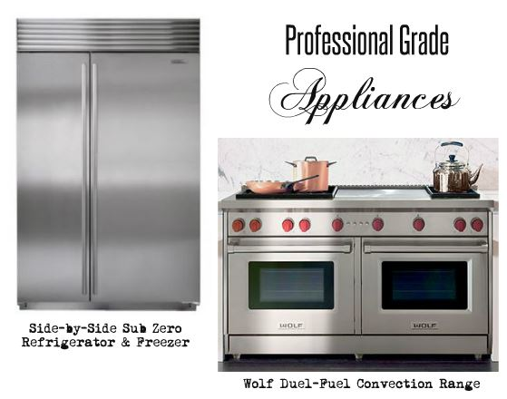 Professional Cooking Appliances ~ Cad interiors affordable stylish