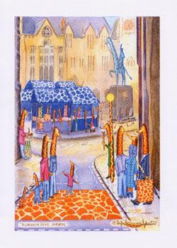 Durham Goes Giraffe, UK Giraffe Artist Ingrid Sylvestre