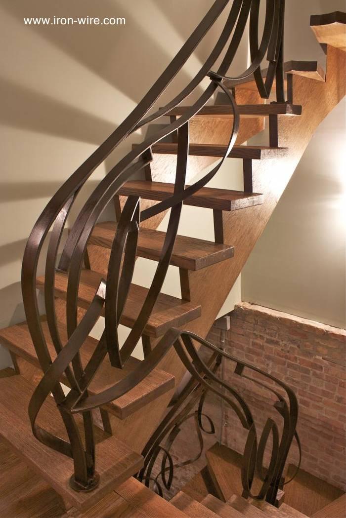 Arquitectura de casas 25 modelos de escaleras de interiores for Como trazar una escalera de metal